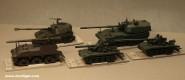 Diverse Hersteller: Fünf Panzerhaubitzen, ab 1955