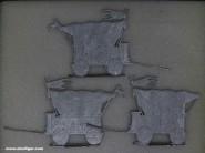 Diverse Hersteller: Drei Kriegswagen der Hussiten, 11. Jh. bis 15. Jh.