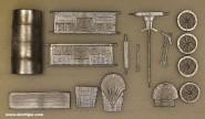 Diverse Hersteller: Mittelalterlicher Planwagen, 11. Jh. bis 15. Jh.
