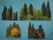 Diverse Hersteller: Bäume / Wald für den Hintergrund