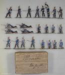 Wegmann ?: Infanterie auf Vorposten, 1870 bis 1871