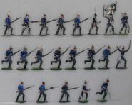 Heinrichsen: Infanterie im Angriff, 1870 bis 1871