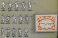 Heinrichsen: Chinesische Infanterie im Angriff, um 1910
