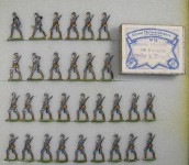 Heinrichsen: Deutsche Infanterie im Marsch, 1916 bis 1918