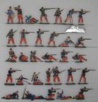 Verschiedene Hersteller: Infanterie im Feuerkampf, 1870 bis 1871