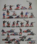Verschiedene Hersteller: Infanterie im Kampf, 1870 bis 1871