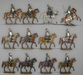 Rieche: Kürassiere im Trabangriff, 1815 bis 1870