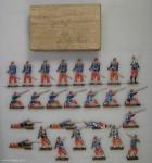Wegmann: Infanterie auf Vorposten, 1870 bis 1871