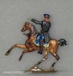 Wegmann ?: General im Überrock zu Pferd, 1870 bis 1871