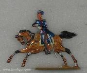 Wegmann ?: Stabsoffizier zu Pferd, 1870 bis 1871