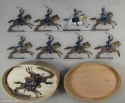 Heinrichsen: Schwere Reiter im Angriff, 1866 bis 1871
