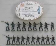 Heinrichsen: Jäger vorgehend, 1866 bis 1871