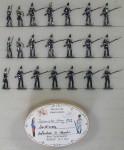 Heinrichsen: Infanterie aus Sardinien, 1859