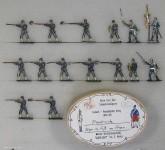 Diverse Hersteller: Jäger zu Fuß im Feuer, 1870 bis 1871