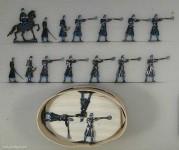 Heinrichsen: Infanterie feuernd 1864, 1864