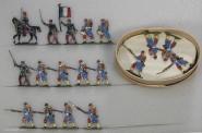 Diverse Hersteller: Infanterie vorgehend, 1870 bis 1871