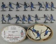 Heinrichsen: Infanterie im Sturm, 1870 bis 1871