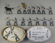 Diverse Hersteller: Infanterie angreifend, 1859 bis 1866