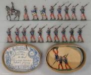 Heinrichsen: Infanterie in Parade, 1871 bis 1914