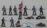 Rieche: Infanterie in Abwehr, 1870 bis 1871