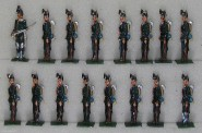 Rieche: Jäger stillgestanden, 1864 bis 1871