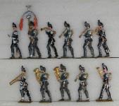 Diverse Hersteller: Musik der Infanterie im Marsch, 1870 bis 1871