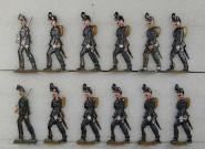 Diverse Hersteller: Unbewaffnete Infanterie, 1870 bis 1871