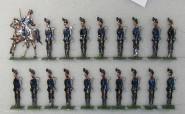 Rieche: Infanterie stillgestanden, 1866