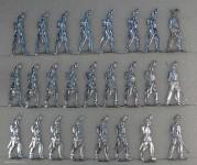Wegmann ?: Unbewaffnete Infanterie, 1870 bis 1871