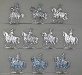 Rieche: Garde du Corps anreitend, 1870 bis 1871