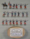 Heinrichsen: Infanterie in Reserve stehend, 1870 bis 1871