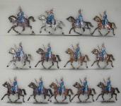 Rieche: Dragoner im Trab, 1870 bis 1871