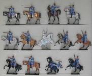 Rieche: Dragoner plänkelnd, 1870 bis 1871