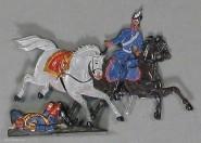 Rieche: Dragoner erbeutet Generalspferd., 1870 bis 1871