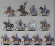 Rieche: Dragoner anreitend, 1870 bis 1871