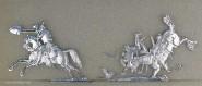Rieche: Dragoner im Gefecht, 1870 bis 1871