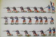 Heinrichsen: Garde-Infanterie feuernd, 1870 bis 1871