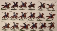 Heinrichsen: Dragoner im Angriff bei Mars-la-Tour, 1870 bis 1871