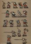 Rieche: Ritter zu Fuß, im Kampf, 1524 bis 1526