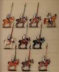 Rieche: Ritter zu Pferd, haltend, 1524 bis 1526