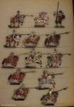 Rieche: Ritter zu Pferd, kämpfend, 1525, 1524 bis 1526
