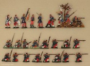 Heinrichsen: Infanterie im Feuerkampf, 1870 bis 1871