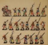 Rieche: Bewaffnete Bauern im Marsch, 11. Jh. bis 15. Jh.
