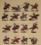Heinrichsen: Dragoner  fechtend, 1870 bis 1871