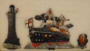 Diverse Hersteller: Panzerschiff im Kampf, 1871 bis 1918