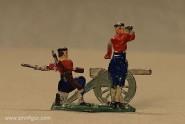 Heinrichsen: Montenegriner Artillerie, um 1912