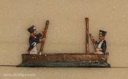 Heinrichsen: Pioniere beim Brückenbau, 1789 bis 1815