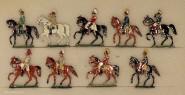 Verschiedene Hersteller: Stabsoffiziere zu Pferd, 1871 bis 1918