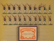Heinrichsen: Gardegrenadiere in Parade, 1888 bis 1914