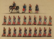 Rieche: Infanterie in Reserve, 1870 bis 1871